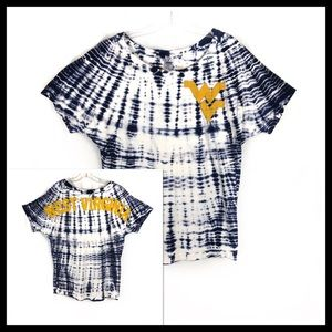 Venley Tie Dye West Virginia Football Shirt